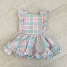 vintage paloma pinafore // size 2t
