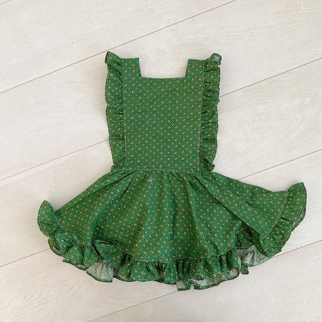 vintage claudia pinafore // size 3t