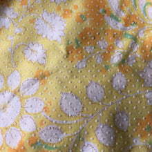 vintage sunshine swiss dot pinafore 2t