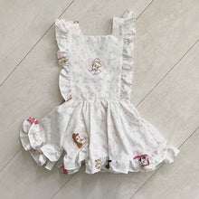 vintage character pinafore d  // size 3t
