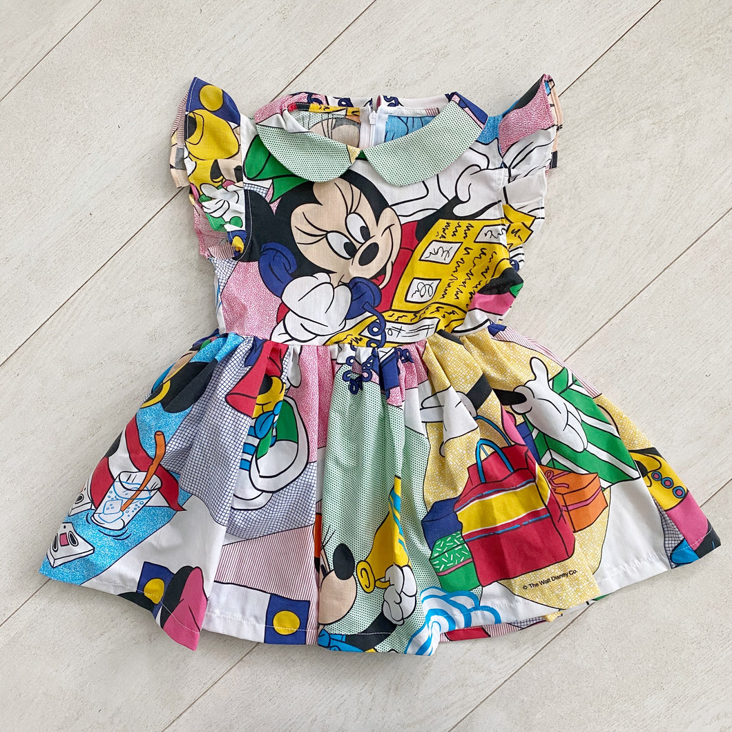 vintage character dress a  // size 5t
