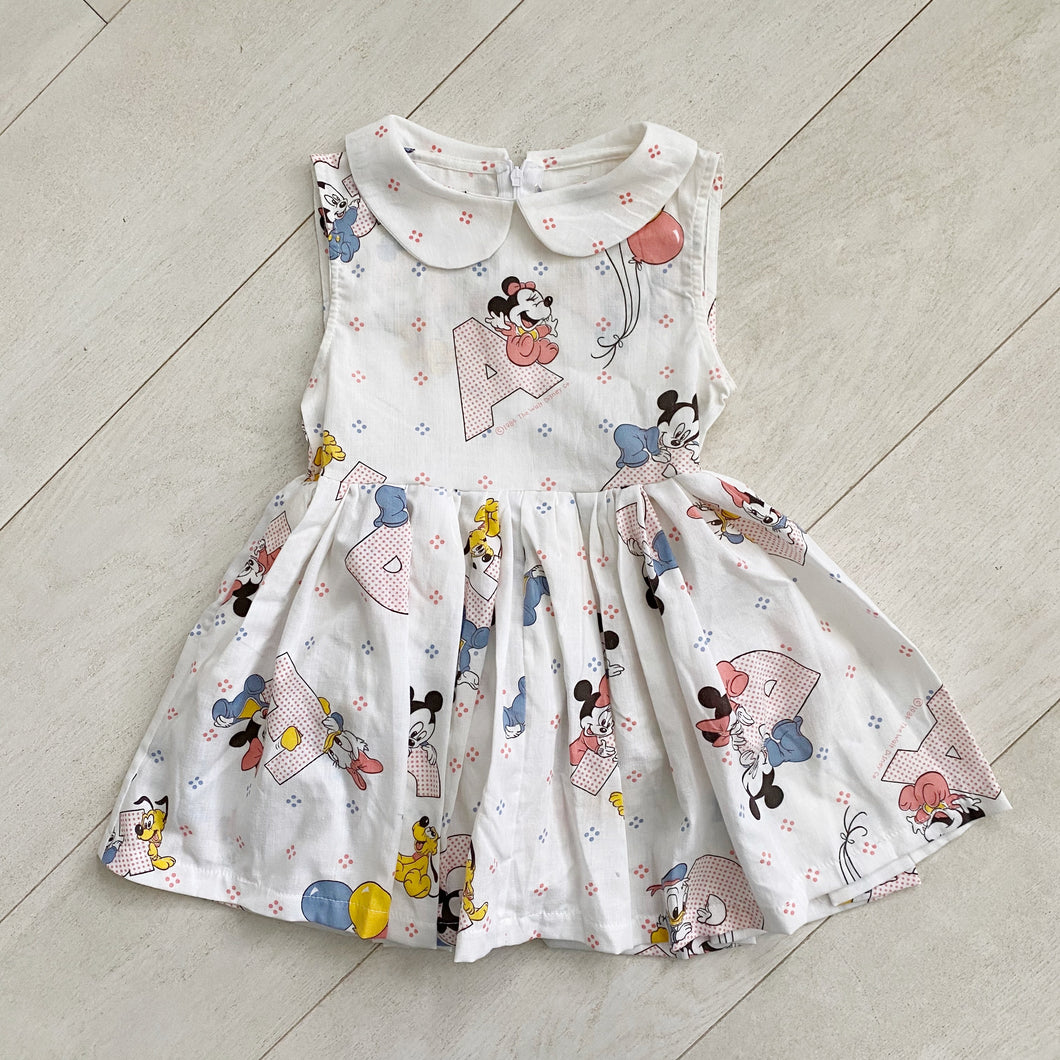 vintage character dress b  // size 5t