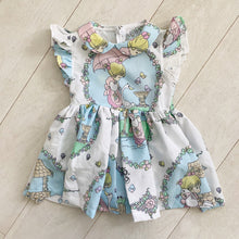 vintage character dress d  // size 5t