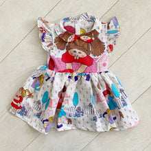 vintage character dress f // size 5t