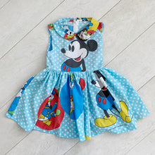 vintage character dress h // size 6t