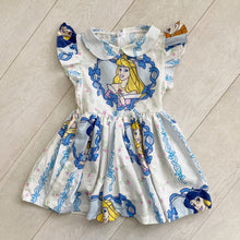 vintage character dress k // size 6t
