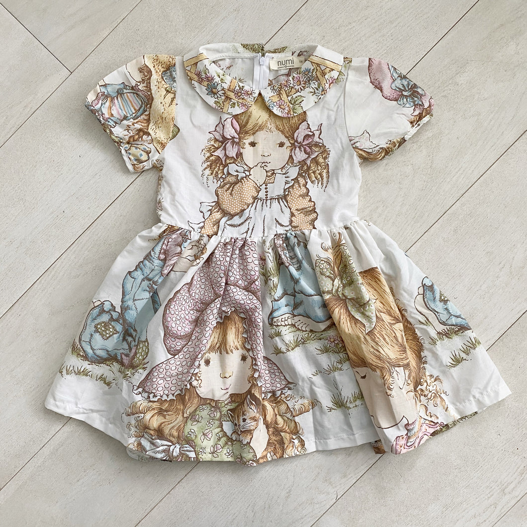 vintage character dress a // size 7t