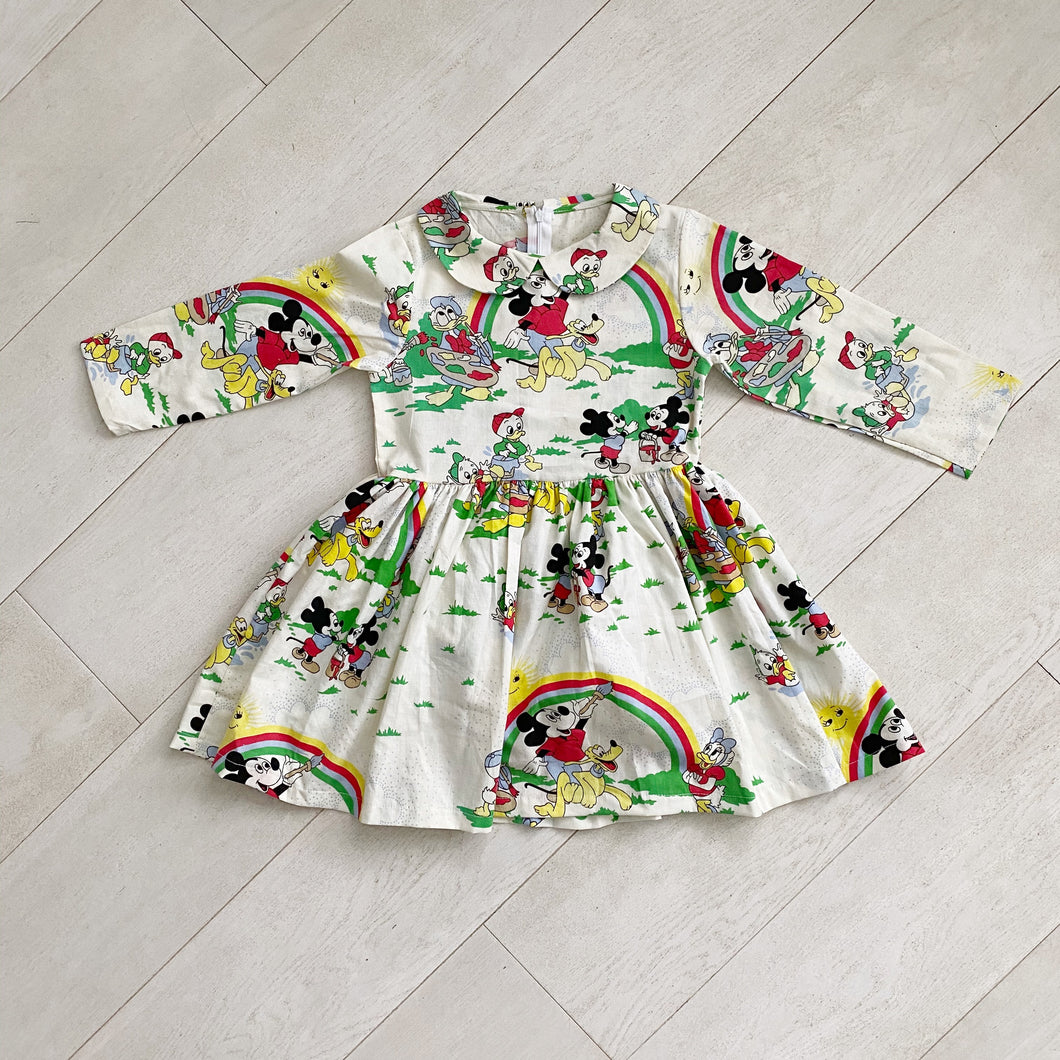 vintage character dress b // size 7t