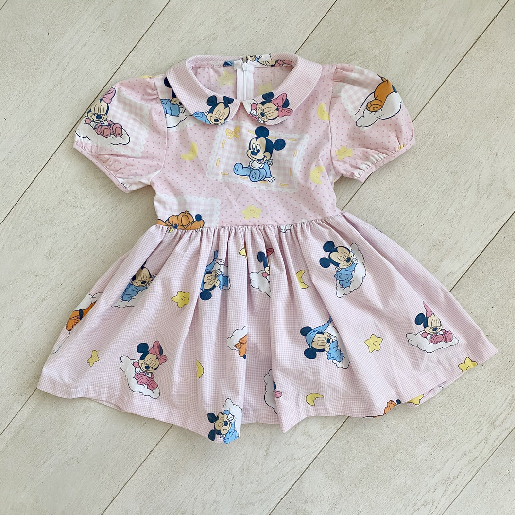 vintage character dress p // size 5t