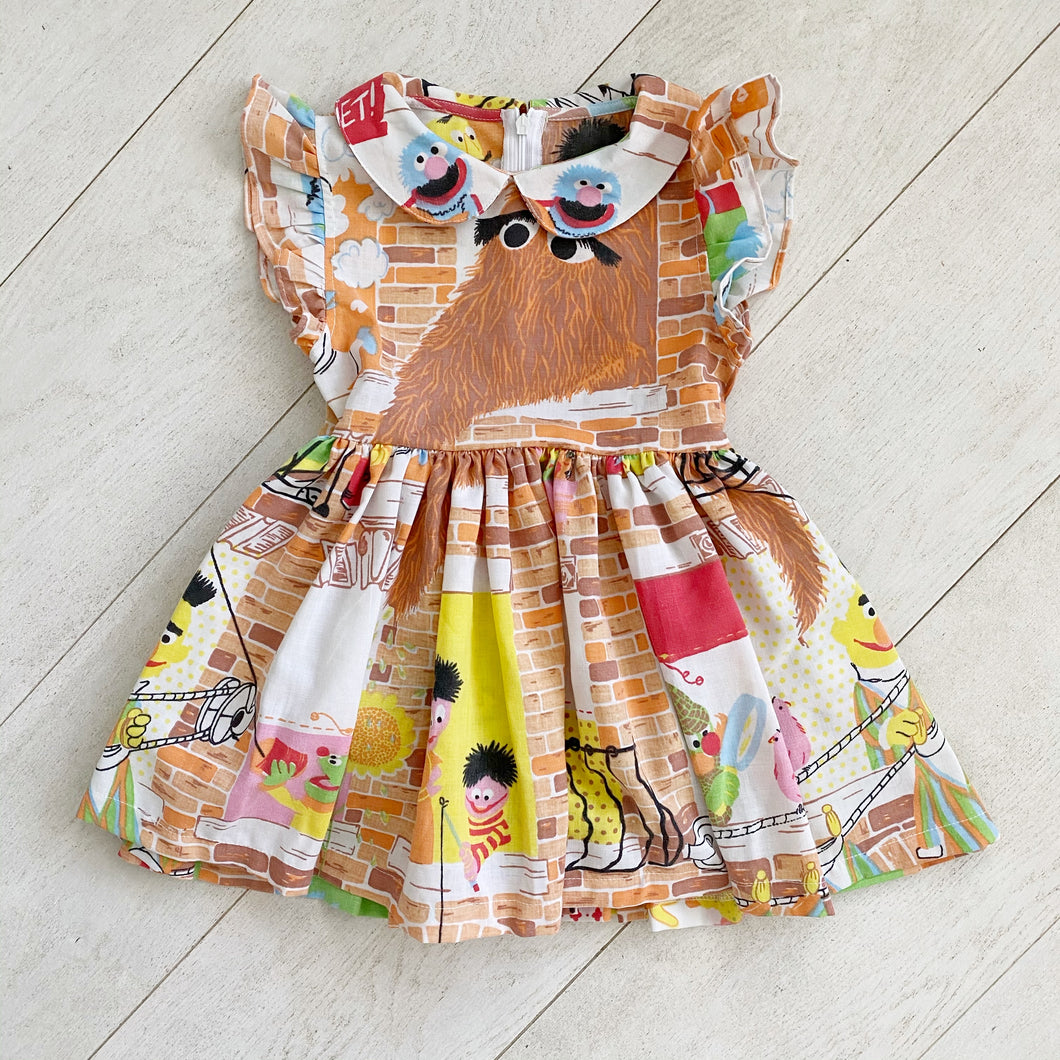 vintage character dress mm // size 5t