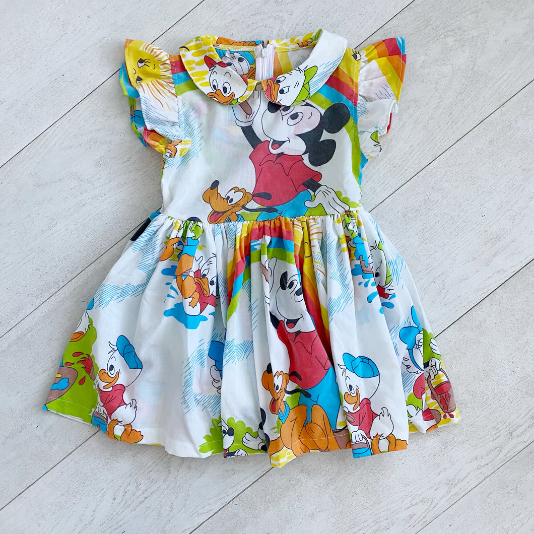 vintage character dress hh // size 6t
