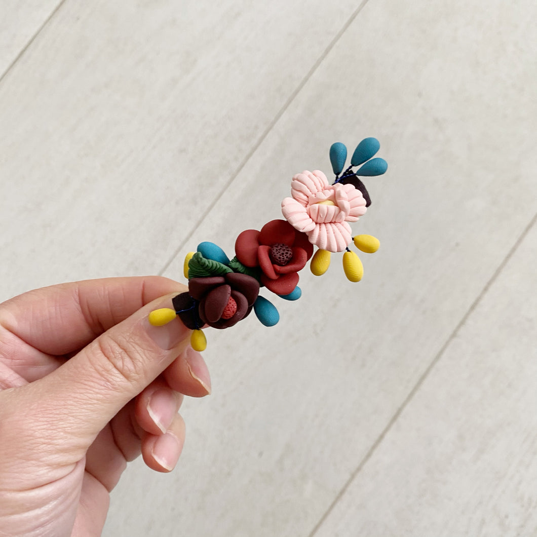 winter flower clip