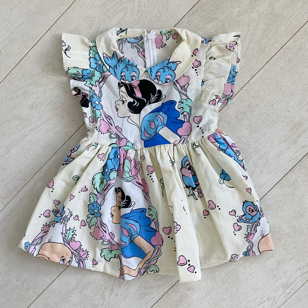 vintage character dress w // size 4t