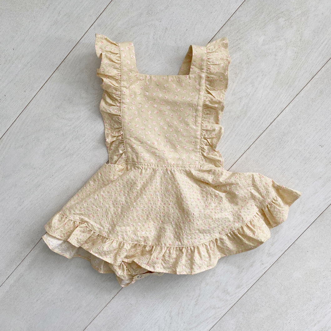 vintage laurie pinafore // size 2t