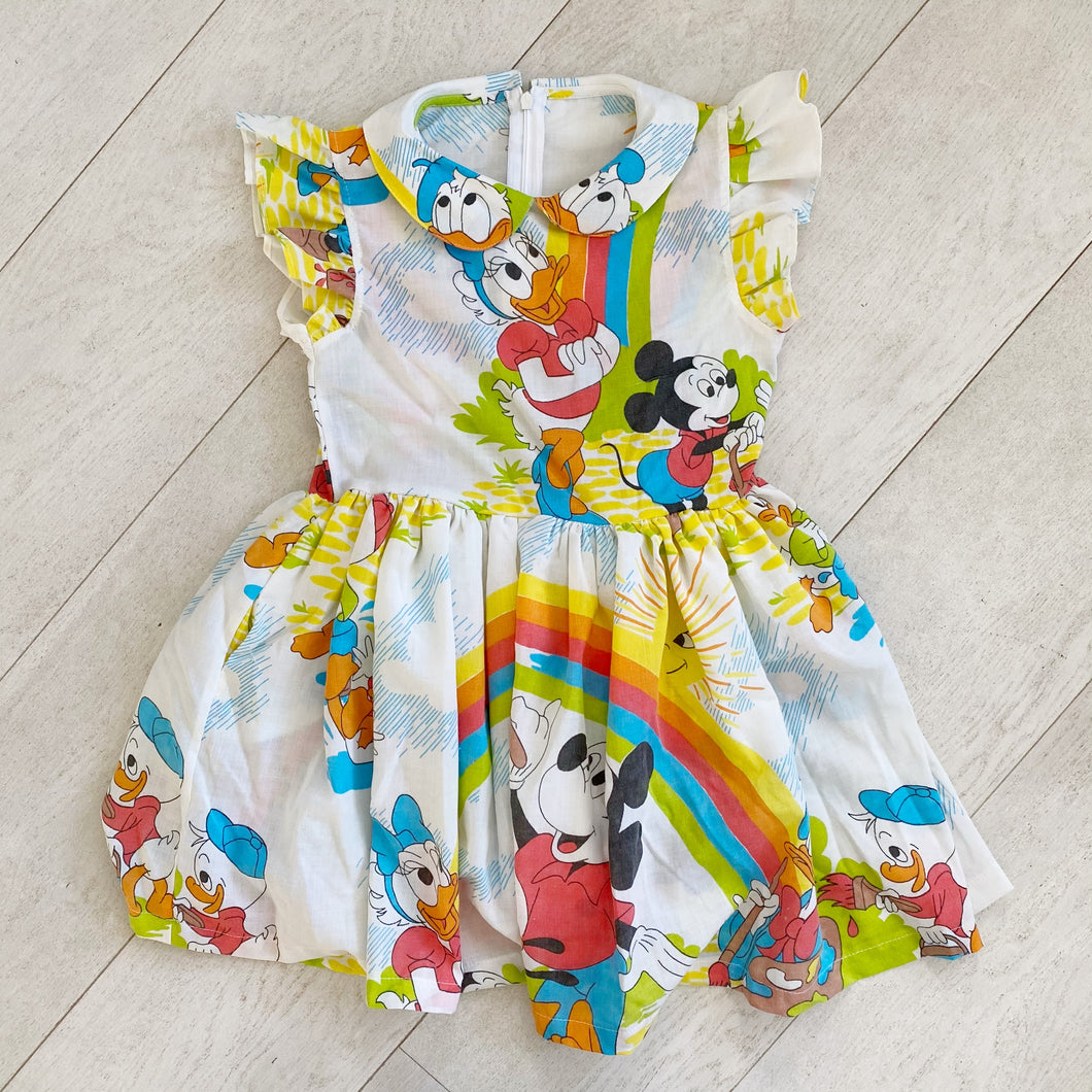 vintage character dress p // size 7t