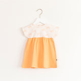 """Marshmallow"" Dress - Peach"