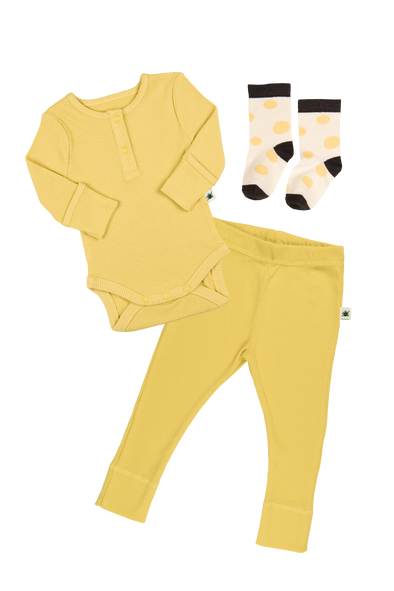 """Simples"" Baby Set - Yellow"