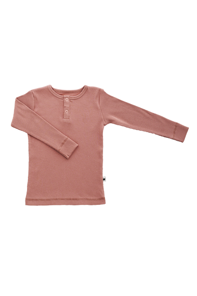 """Simples"" Top - Dusty Rose"