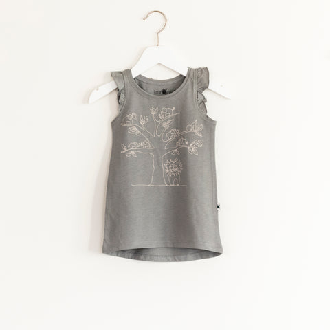 """Flutter"" Dress - Grey"