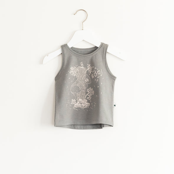 """Flash"" Top - Grey"