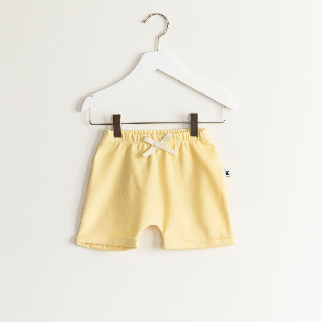 """Baggy"" Shorts - Yellow"