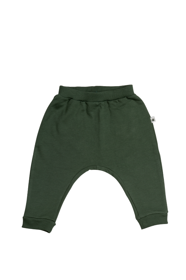 """Baggy"" Pants - Forest Green"
