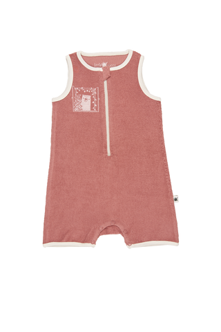 """Bee"" Romper - Dusty Rose"