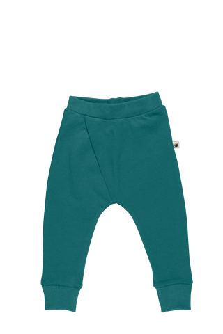 """Cross"" Pants - Emerald"