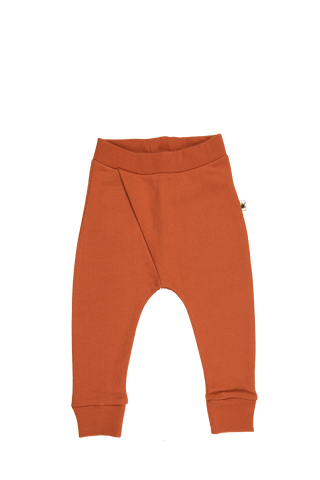 """Cross"" Pants - Rust"