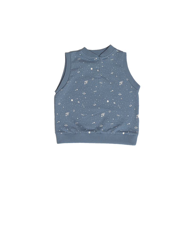 """Galaxie"" Vest - Infinity Blue"