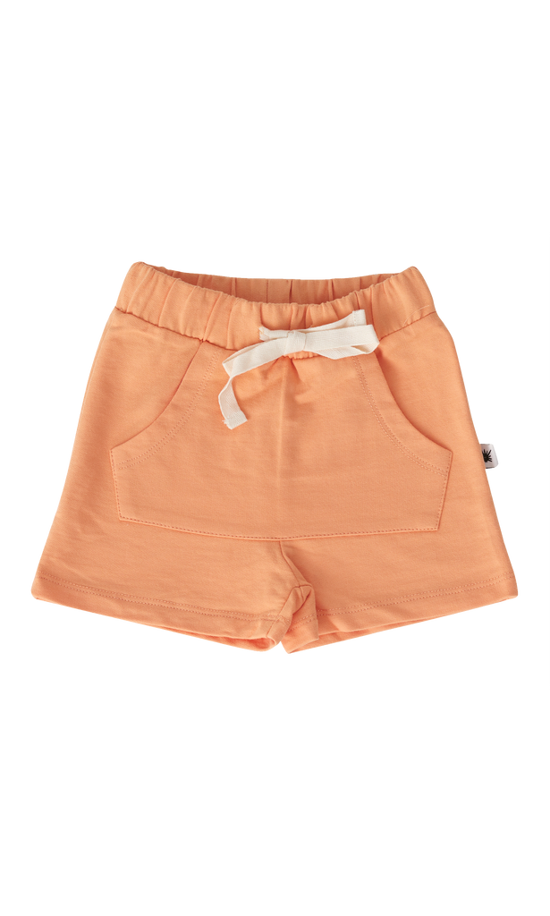 """Pocket"" Shorts - Sunset Orange"