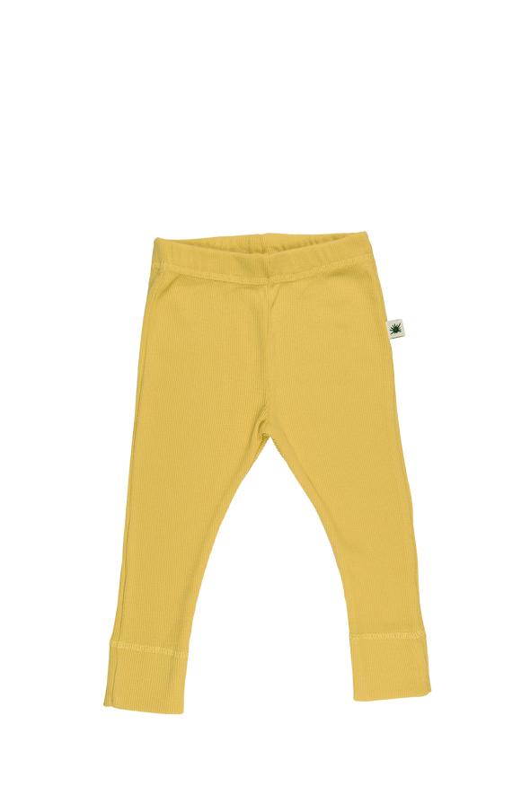 """Simples"" Legging - Raffia Yellow"