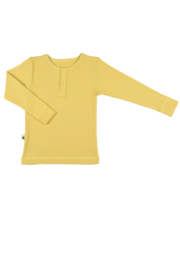 """Simples"" Top - Raffia Yellow"