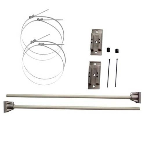 "Windpro® Hurricane Bracket 30"" Single Sets - Silver"