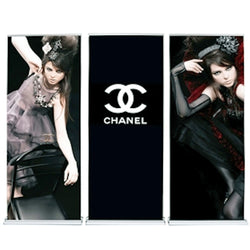 Cascade Retractable Banner Stand Back Wall (includes graphics)