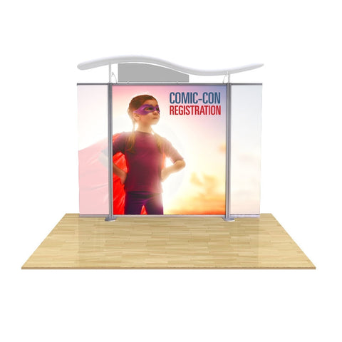 "Modular Display graphic center panel 75""wide (fits Brandstand™ Satellite™)"