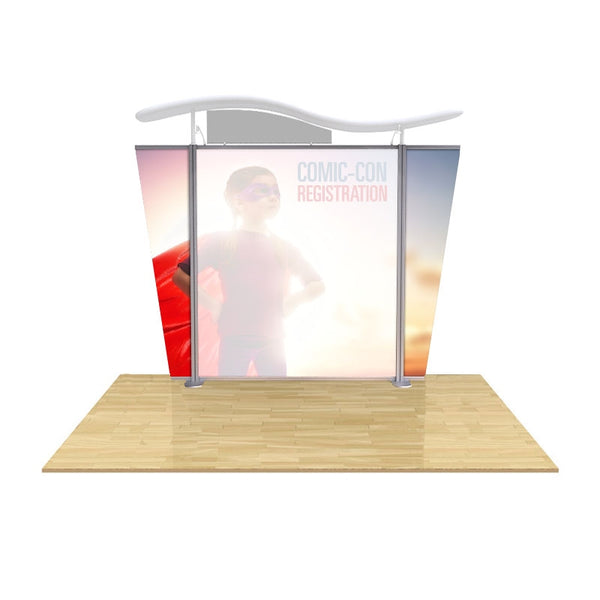 Modular Display graphic Tapered End Panels set of two (fits Brandstand™ Satellite™)