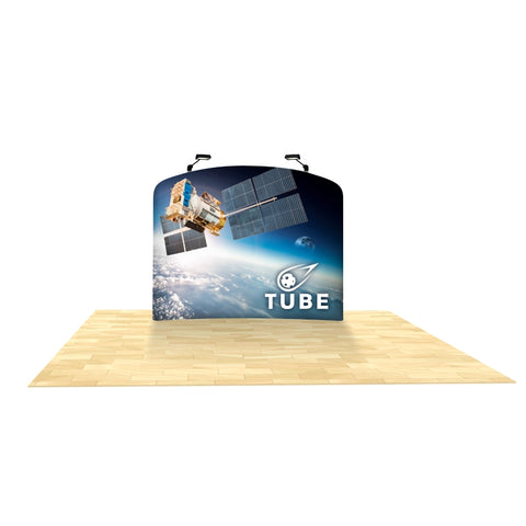 "Generic 6ft Graphic Replacement with Curved Top (fits Brandstand™ 6ft S WaveLine™ curved 69""w x 58""h x 11""d)"