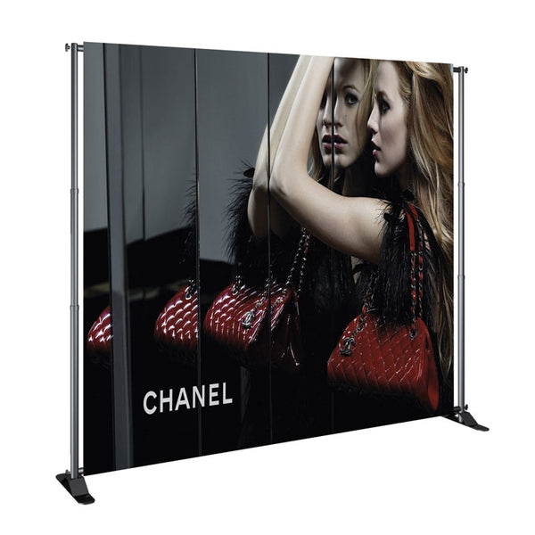 JN5-8X12 Large format banner stand graphic replacement