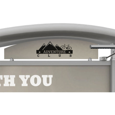Metal Fusion Graphic Header for Timberline7.63 x 39.5 Header Right (default)