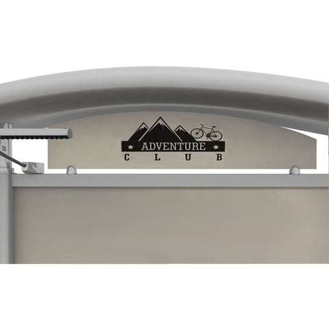 Metal Fusion Graphic Header for Timberline7.63 x 39.5 Header Left