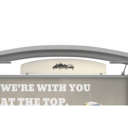 Metal Fusion Graphic Header for Timberline Arch Top