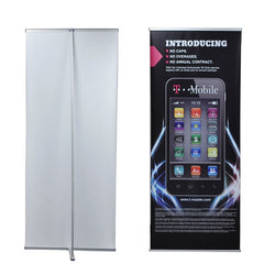 "L - Banner Stand 36"" x 86.25"" with Vinyl Graphics"