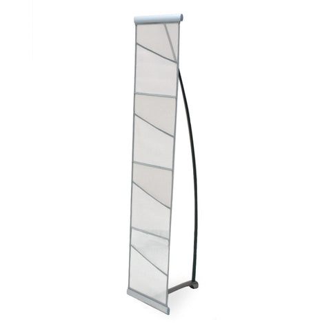 Literature rack, Fabric, L-Banner style, single
