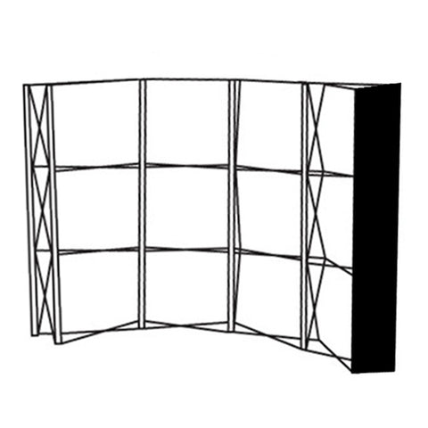 Pop-Up Fabric End Panel Model B/D