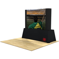 Pop-Up 8ft Table Top Display & Case - Center Graphic Package