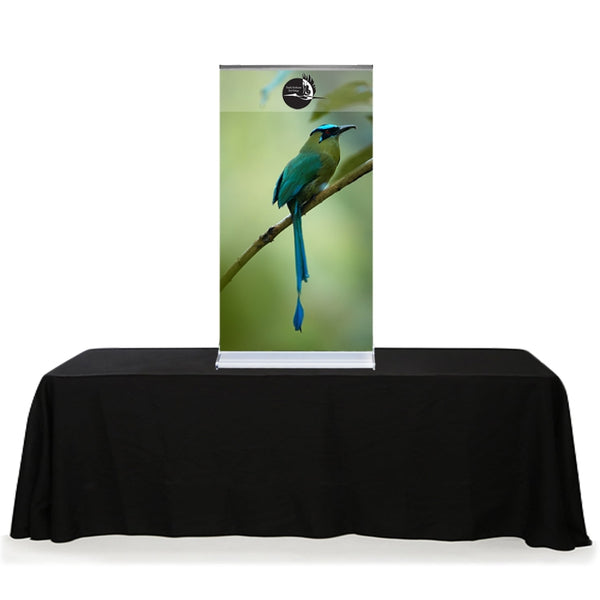 56 inch Vinyl Graphic with 24 inch Cascade Banner Stand