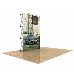 Star Fabric Popup Display 5ft x 7.5ft with No End Caps