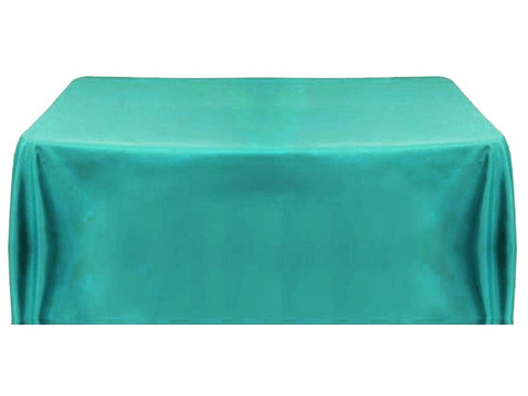 6' Table Throw 4-sided - Turquoise