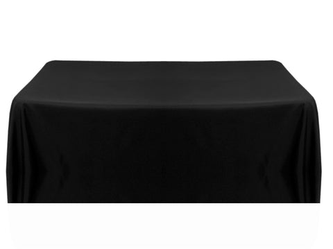 8' Table Throw 4-sided - Black